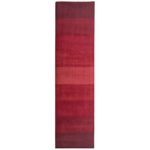 Aspect Red Stripes Rectangular: 2 Ft. 5 In. x 8 Ft. Runner