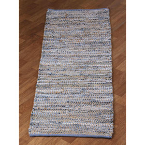 Earth First Blue Jean Runner: 2 Ft. 5 Ft. In. x 8 Ft. Rug