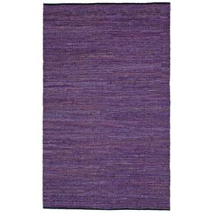 Matador Purple Rectangular: 1 Ft 9 In x 2 Ft 10 In Rug