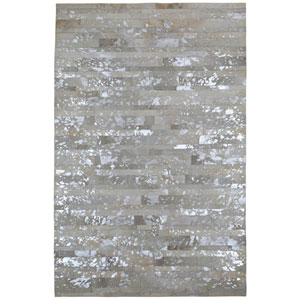 Matador White Rectangular: 4 Ft x 6 Ft Rug