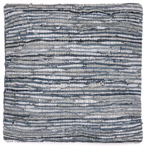 Matador Denim and Leather Chimdi Blue 27-Inch Pillow