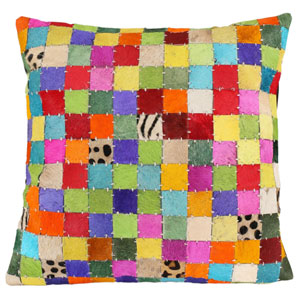 Matador Multicolor 18-Inch Block Pillow