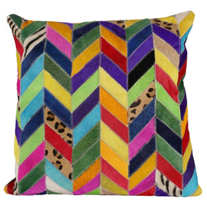 Matador Multicolor 18-Inch Panels Pillow