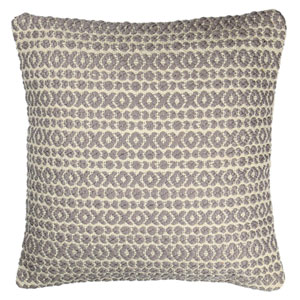 Structure Hugs and Kisses Grey 18-Inch Pillow