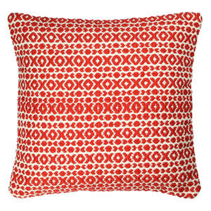 Structure Hugs and Kisses Red 18-Inch Pillow