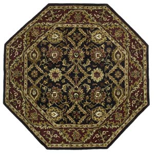 Morris Black  Octagon: 6 Ft. x 6 Ft. Rug