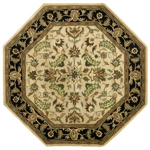 Patina Beige Octagon: 6 Ft. x 6 Ft. Rug