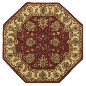 Agra Gold Octagon: 6 Ft. x 6 Ft. Rug