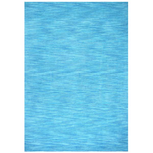 Fusion Aqua Rectangular: 5 Ft. x 8 Ft. Rug