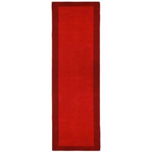 Pulse Red Runner: 2 Ft. 5 In. x 12 Ft. Rug