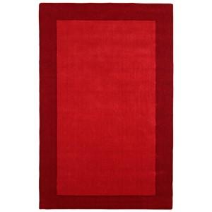 Pulse Red Rectangular: 5 Ft. x 8 Ft. Rug