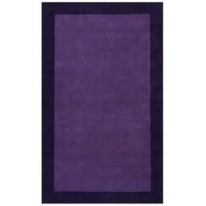 Pulse Purple Rectangular: 5 Ft. x 8 Ft. Rug