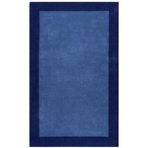 Pulse Blue Rectangular: 5 Ft. x 8 Ft. Rug