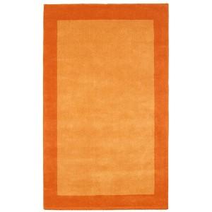 Pulse Orange Rectangular: 5 Ft. x 8 Ft. Rug