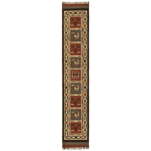 Brick Hacienda Tribal 2.5 Ft. x 14 Ft. Runner