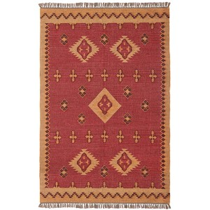 Hacienda Wine Rectangular: 5 Ft. x 8 Ft. Rug