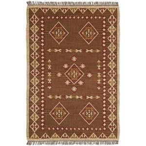 Hacienda Brown Rectangular: 5 Ft. x 8 Ft. Rug