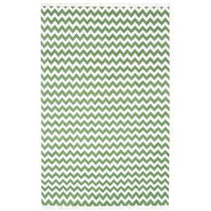 Hacienda Green Rectangular: 8 Ft. x 10 Ft. Rug