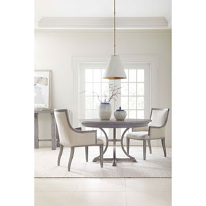Willow Pewter 54-Inch Round Dining Table