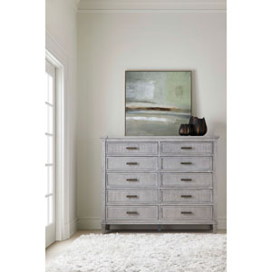 Willow Pewter Dressing Chest