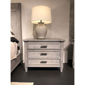 Willow Pewter Large Nightstand