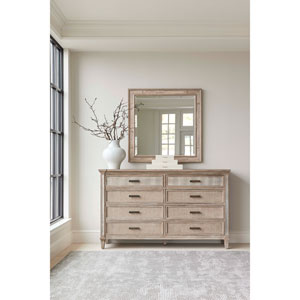 Willow Burlap 70-Inch Dresser