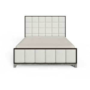 Horizon Flannel Upholstered Queen Bed