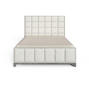 Horizon Mist Upholstered King Bed