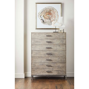Cameron Raw Silk Drawer Chest