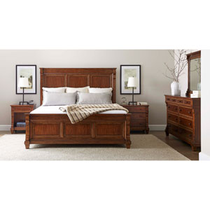 Old Town Barrister King Panel Bed