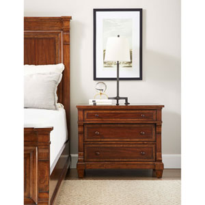 Old Town Barrister Large Nightstand