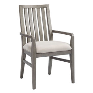 Venice Grey Upholstered Arm Chair