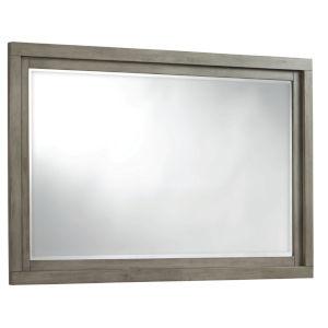 Venice Grey Landscape Mirror