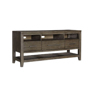 Bravo Brown 60-Inch Console with Three Drawers