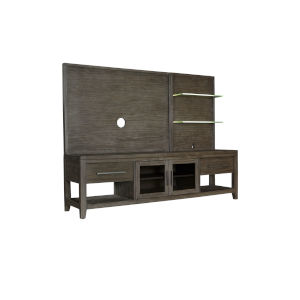 Bravo Brown 80-Inch Entertainment Console