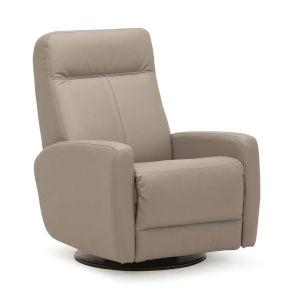 Vernon II Dillon Stratus Polyurethane Swivel Glider Chair