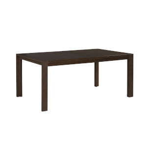 Montreal Brown Rectangular Dining Table