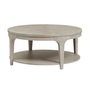 Alexandra White Round Coffee Table