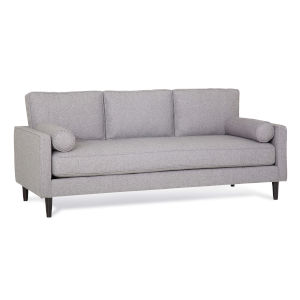 Thomas Alpine Storm Polyester Sofa with Pillow