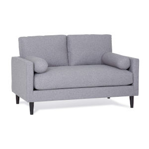 Margo Alpine Storm Polyester Loveseat with Pillow
