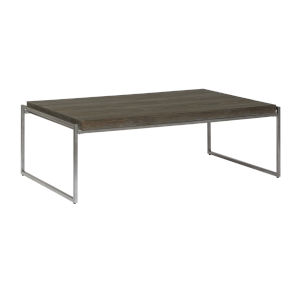 Thiago Brown Rectangular Cocktail Table