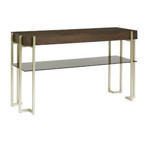 Arkell Brown Sofa Table