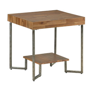 Dawson Brown Square End Table