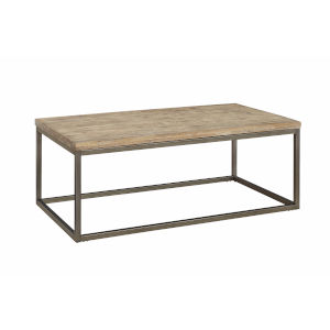 Julien Rectangle Coffee Table with Acacia Wood Top