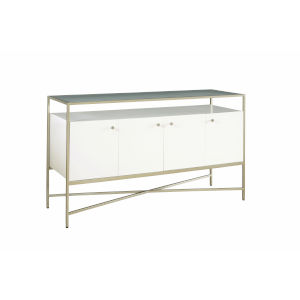 Delaney White Console Table