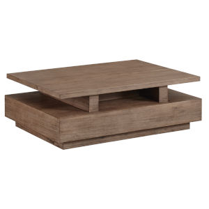 Slade Natural Rectangular Cocktail Table with lift top