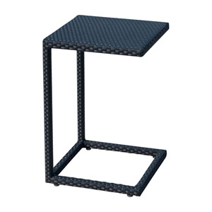 Onyx Black Outdoor C End Table