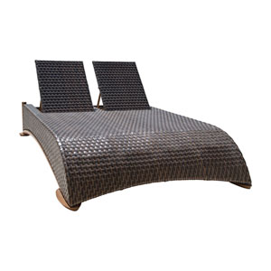 Big Sur Dark Brown Outdoor Daybeds