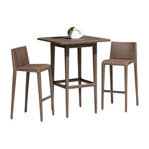 Oasis Java Brown Outdoor Pub Sets, 2 Piece