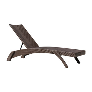 Oasis Java Brown Outdoor Chaise Lounge